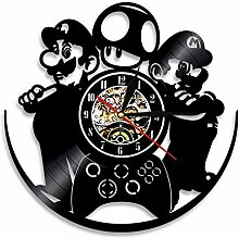 Niedliche Pooh Disney Vinyl Record Wanduhr