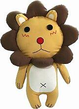 niedlichen Tier kreative Leinwand Puppe Spielzeug Dekoration Puppe Löwe groß