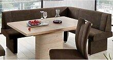Niehoff Pia Eckbank oder Einzelbank für Wohnzimmer Esszimmer oder Küche Polsterbank in verschiedenen Größen und Varianten wählbar