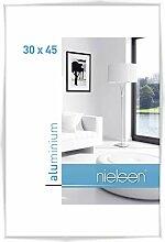 Nielsen Aluminium Bilderrahmen C2, 30x45 cm, Weiß