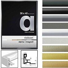 Nielsen Aluminiumrahmen Alpha Magnet mit Acrylglas