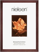 Nielsen BILDERRAHMEN Dunkelbraun , Holz, 50x70 cm