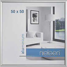 Nielsen BILDERRAHMEN Silberfarben , Metall, 50x50