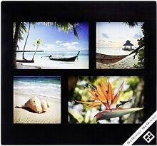 Nielsen Glas 4er Collage schwarz 2x10x10 und