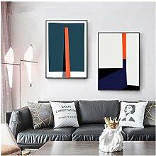 NIEMENGZHEN Druck auf Leinwand Moderne abstrakte