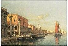NIEMENGZHEN Resorts Vintage Water Town Venedig