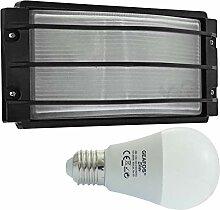 Nieplitz-LED 112 - E27 - Aluminium -Alu