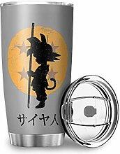 Niersensea Edelstahl Tassen Goku Dragon Ball