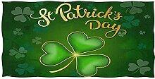 Nifdhkw St. Patrick's Day Extra grünes
