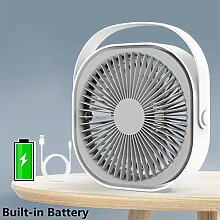 Nifogo Mini USB Ventilator, Kleiner Ventilator,