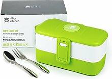 Nifty Kitchen Bento Lunch Box, Zwei Abteilungen