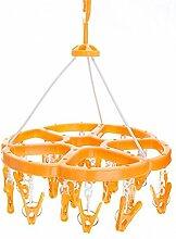 Nikgic 43 * 32.5 cm 360 Grad Orange 24 Starke Clip