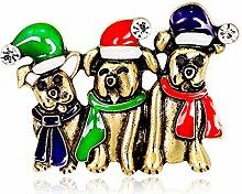 Nikgic Weihnachten Brosche Schmuck Anhänger
