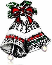 Nikgic Weihnachten Party Schmuck Brosche Pins