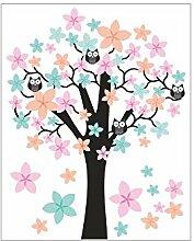 nikima - 062 Wandtattoo Wandbild Kinderzimmer Baum