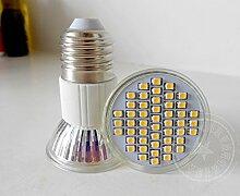 NIKU-Energiesparlampe 220V/12V MR16 LED Lampe E27 Plus Mehr Spotlight Lampe 2W 3W 4W 5W LED-Lampe, 4W-warmes Lich