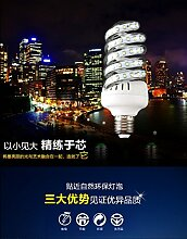 NIKU-LED-Lampe E27 Aluminium energiesparende LED-Glühbirne Glühbirnen Lichtquelle,B-16W-warmes Lich