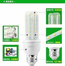 NIKU-Led Lampe Lampe Energiesparen Mais markieren Sie das Schlafzimmer Küche U-lampe led3U/4U Mais Glühbirne E27/E22 LED-Lampen Lichtquelle,E22-24W-weisses Lich