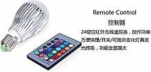 NIKU-RGB-LED-Lampe 9W Glühlampe Kugel Bunt Ballon Lampe mit Infrarot Fernbedienung Lampe E27-E14-B22 gu10 mr16 E26 LED-Leuchtmittel, MR16 Leuchtmittel
