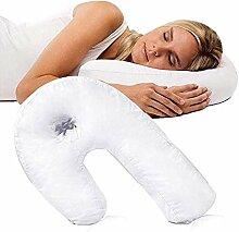 NiLeFo Side Sleeper U-Form Kopfstütze