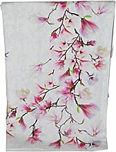 nilsan Magnolia Tischdecke, 100% Baumwolle, Pink, 150x 180cm