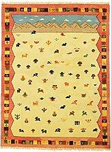 Nimbaft Nomaden Teppich Orientalischer Teppich 199x149 cm Handgeknüpft Klassisch