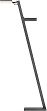 Nimbus Stehlampe grau,Handarbeit;Qualität aus
