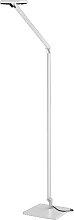 Nimbus Stehlampe weiß,Handarbeit;Qualität aus