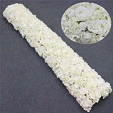 NIMEYX 2m Hochzeitshintergrund Dekor Blumengesteck