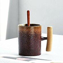 ning88llning5 Kreative Kaffeetasse Mit Löffel