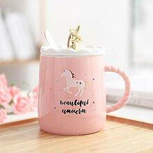 ning88llning5 Magische Einhorn Kaffeetasse Mit