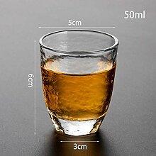 ning88llning5 Tasse 2 Stücke Glas Tasse Klar