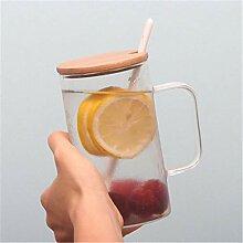 ning88llning5 Tasse Cartoon Bär Glas Tasse