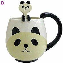 ning88llning5 Tasse Cartoon Tier Tasse Kaffeetasse