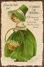 NINGFEI St. Patrick's Day Grußkarte, Bild auf