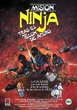Ninja Mission Poster 01 Metal Sign A4 12x8 Aluminium