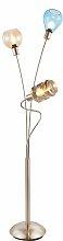 Nino Leuchten,Stehlampe PESARO 3 -flg. /, H:155 cm