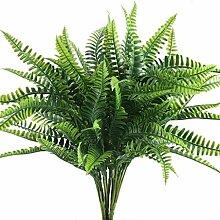 Nirmon KüNstliche Pflanze Farn Strauch Pflanze
