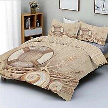 NISENASU Duplex Print Bettbezug Set, Willkommen an