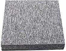 Nisorpa Selbstklebende Teppichfliesen, 50,8 x 50,8
