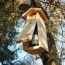 Nistkasten als originelle Geschenkverpackung / Vogelhaus