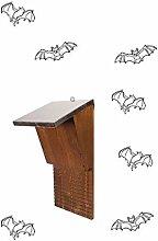 Nistkasten für Fledermäuse in Holz. Zuflucht ideal für die Fledermaus, nützlich für die Jagd die Mücken.