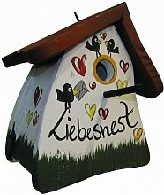 Nistkasten Vogelhaus Nistmini Liebesnest Brief