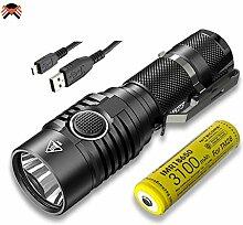 Nitecore® LED-Taschenlampe mit hoher Leistung