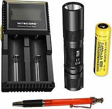 Nitecore MT1U, UV-LED-Taschenlampe, 365nm mit