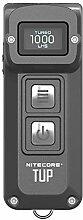 Nitecore TUP Taschenlampe, 1000 lm, klein, grau,