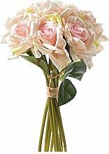 Niya Soft rosa Brautstrauß Hochzeit zu Hause