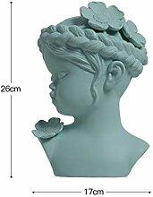 NIYAOJIANFEI Abstrakte skulptur Keramik Kopf