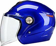 NJ Helm- Elektrische Motorradhelm Männer und