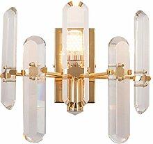 NJ Wandlampe- Kristall Wandleuchte Moderne